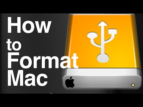 How to Format Set Up Install External Hard Drive on Mac