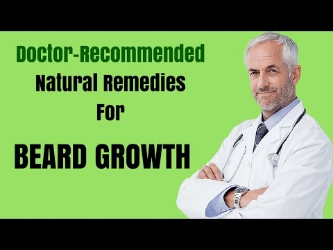 How to Grow Beard Faster - Number 1 Doctor Recommended Home Remedy for Facial Hair