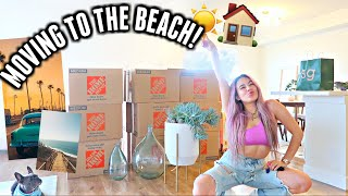 Moving to THE BEACH! Organizing my new California apartment