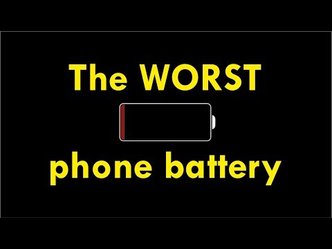 Worst smartphone battery - test