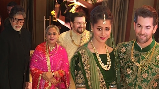 Neil Nitin Mukesh WEDDING Reception 2017 Full Video | Amitabh, Rekha,Katrina