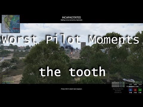 Arma 3 KOTH Best Pilot Moments: Worst Pilot Moments, teh tooth