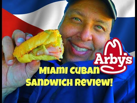 Arby's®  New Miami Cuban Sandwich REVIEW!