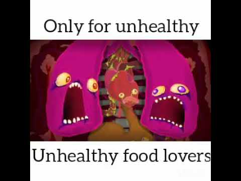 Only For Unhealthy - Unhealthy Food Lovers
