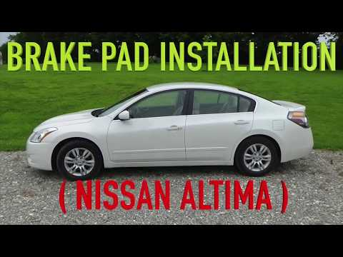 Nissan Altima Brake Pad Installation