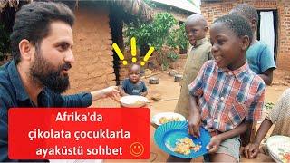 Afrika'nın Bir Köyünde Çocuklar ve YAŞAM ! - Uganda