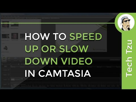 How to Speed Up or Slow Down Video in Camtasia