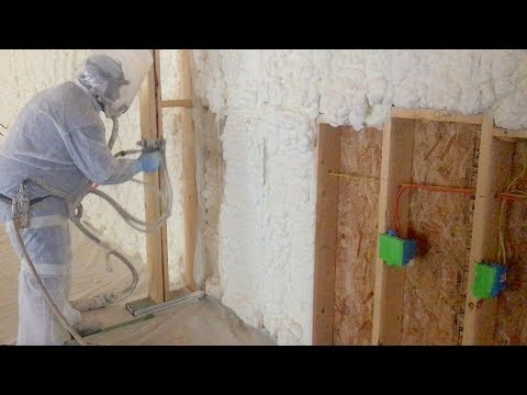 Wiring My Shop and Spray Foam Insulation