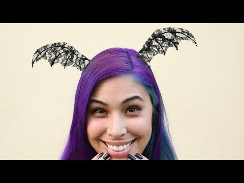 Bat Wings Headband ♥ DIY