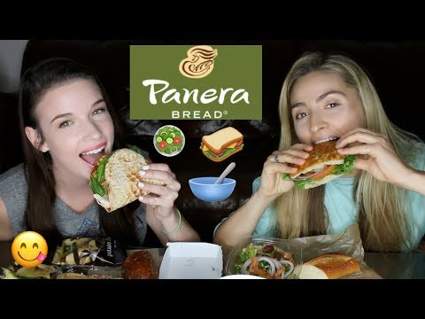 PANERA BREAD MUKBANG! BBQ chicken flatbread, French onion soup, soba noodle bowl +PROM STORYTIMES!