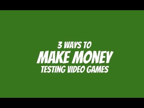 3 Ways to Become a Video Game Tester!