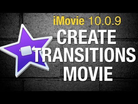How to use transitions in iMovie 10 - 2015