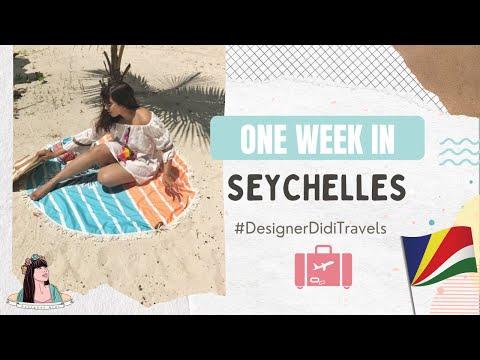 Seychelles Look Book | OOTW | With Love Inaaya