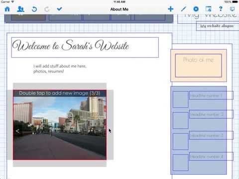 Creating your first website using HTML Egg Pro for iPad