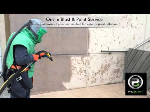Paint off walls - Pro Blast Melbourne