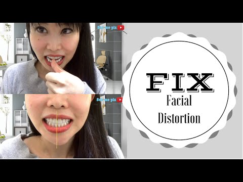 How to Fix Facial Distortion Part 2| Fix Your Bent Chin
