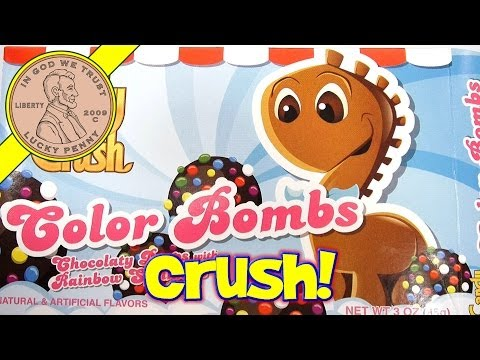 Candy Crush Game Candies - Color Bombs and Jelly Fish!