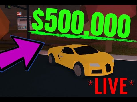 Roblox JailBreak JOIN IN AND PLAY WITH ME (link in desc) | GETTING BUGATTI! *LIVE*