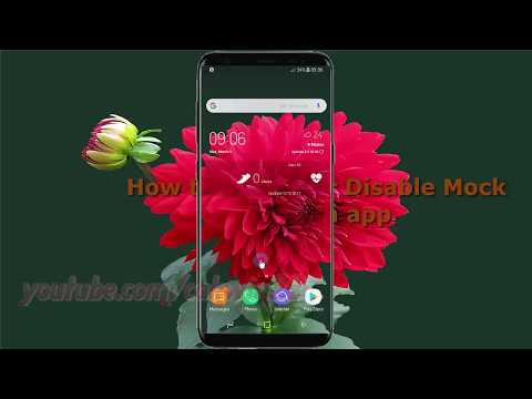 Android Nougat : How to Enable or Disable Mock location app in Samsung Galaxy S8 or S8+