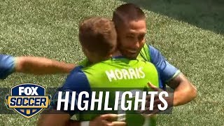 Seattle Sounders FC vs. Sporting Kansas City | 2017 MLS Highlights