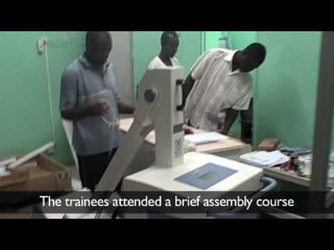 International Medical Corps trains Chadians to use donated medical equipment