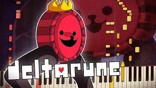 Deltarune - RUDE BUSTER   Piano Tutorial   Synthesia