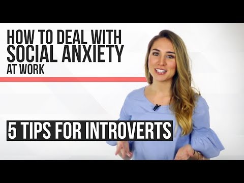 How to Deal With Social Anxiety at Work - 5 Proven Tips For Introverts!