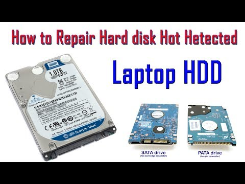 How to repair hard disk not detected (Laptop HDD )