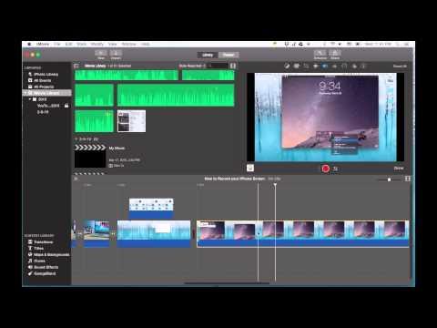 iMovie Tutorial 2015 - Moving Video Clips Around