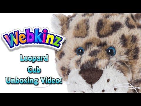 Webkinz Leopard Cub Unboxing - NEW Pet November 2016!