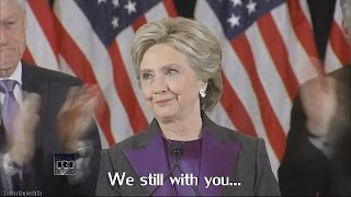 Hillary Clinton. Rise up [ We still with you! ]