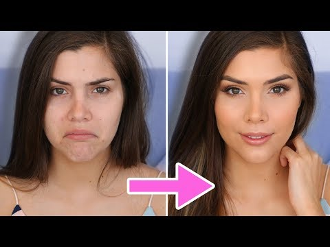 HOW TO APPLY FOUNDATION FOR FLAWLESS, NATURAL LOOKING SKIN! | Katerina Williams