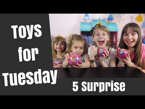 What is 5 Surprise: Who is Our Special Guest: Toys for Tuesday