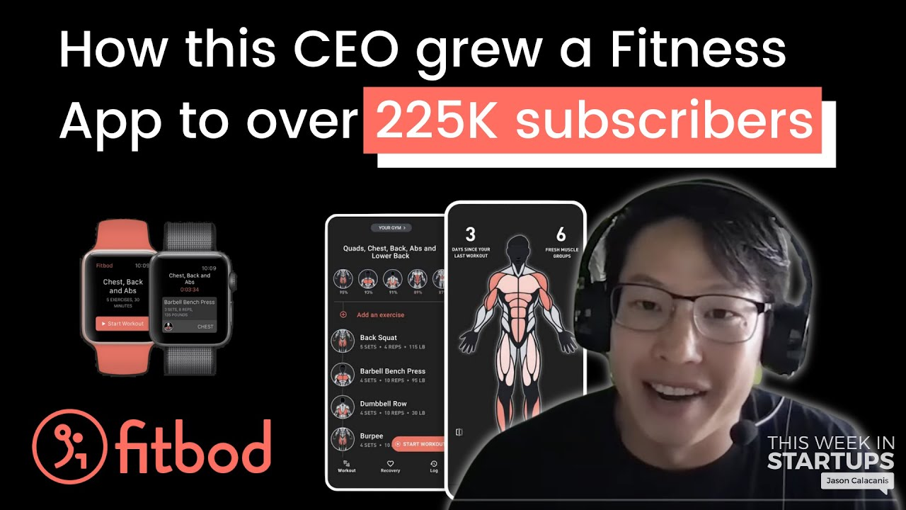 How to Grow Consumer SaaS to 225K Paying Customers - Next Unicorns: Fitbod CEO Allen Chen   E1259