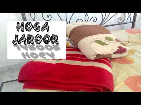 How To DryClean  Heavy Double Bed Double Layer Blanket At Home Easily Like A Game Play