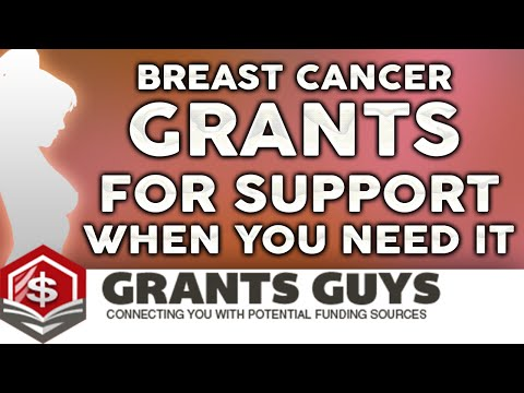 Breast Cancer Grants For Support When You Need It