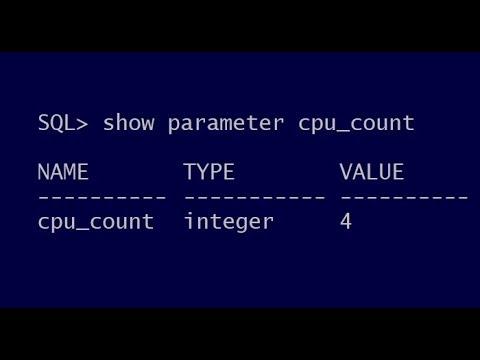 Should I set CPU_COUNT?