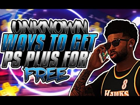 PS Plus Free | How To Get Free Playstation Plue Free 2017 Glitch | No Need For PSN Code | NBA 2k17