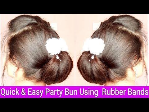 Ramjaan Eid Special Hairstyle|Quick & Easy Low Updo Bun In Hindi|AlwaysPrettyUseful Hairstyles