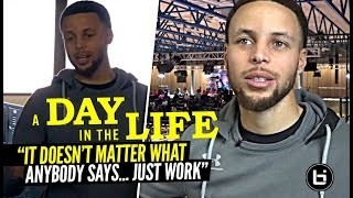 Steph Curry Has a MESSAGE!