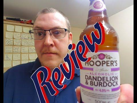 Hooper's Alcoholic Dandelion & Burdock Review | #teamctb