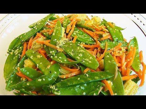 Betty's Asian-Style Corn and Pea Salad, Recipe by Tori Durham
