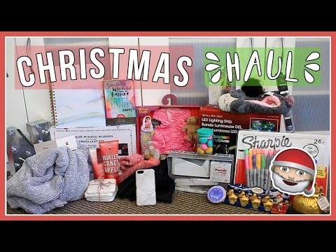 WHAT I GOT FOR CHRISTMAS 2017! Christmas Haul!