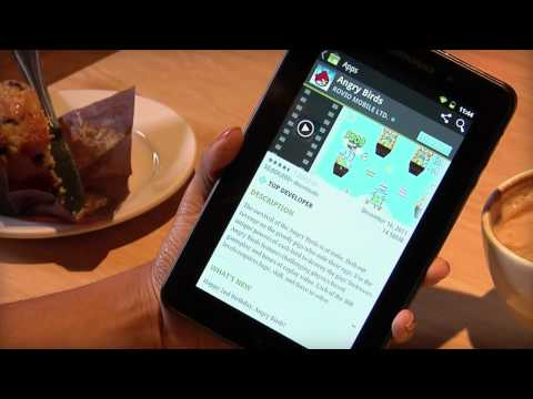 Tablet A1-07: Installing Apps from Android Market