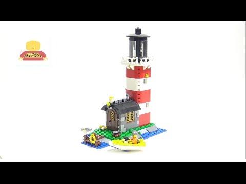 Lego Creator 5770 Lighthouse Island Speed Build - 레고 크리에이터 5770 등대 섬 조립 동영상
