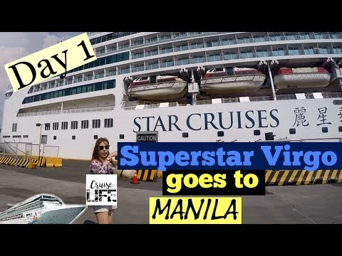 Superstar Virgo in Manila (First Time Cruisers)