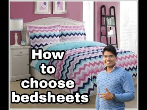 How to Choose Bed Sheets  | Aashiyana Interiors & Architectures