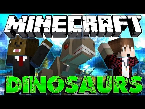 BEGINNING Minecraft Dinosaurs Modded Adventure w/ Mitch #1