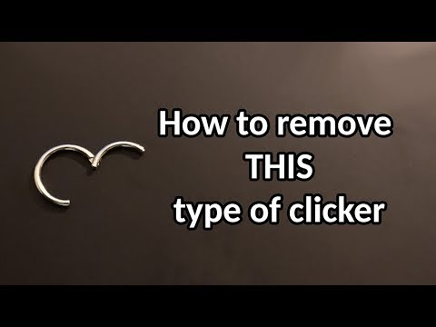 How to Remove a Septum Hoop