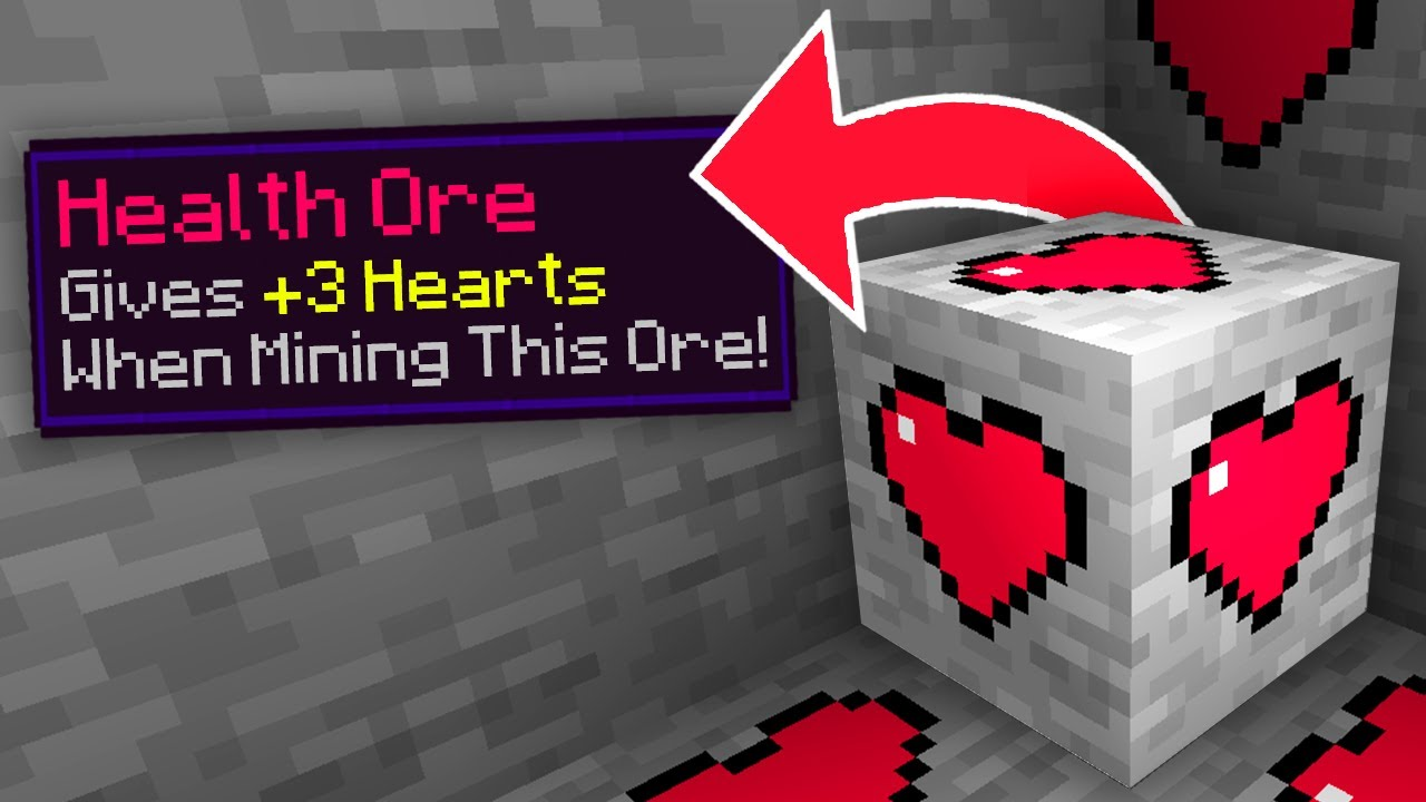 Minecraft, But There Are Custom Ores